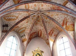 Bleialf, Kirche, Deckenfrsken