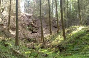 Himmerod, Steinbruch am Klosterberg