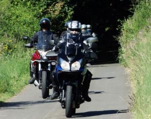 Motorradtour mit Mandy