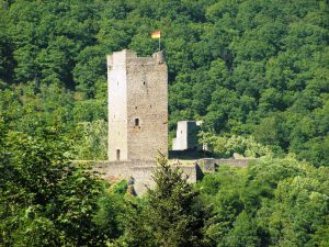 Bergfried der Oberburg Manderscheid